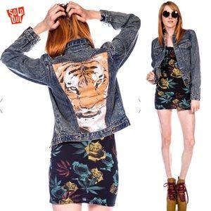Somedays  Lovin Wild One Denim Jacket xs